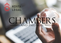 Kosta Legal climbs up a tier in Chambers and Partners ranking